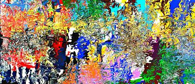 Painting - Wyld Cyd by Cyryn Fyrcyd