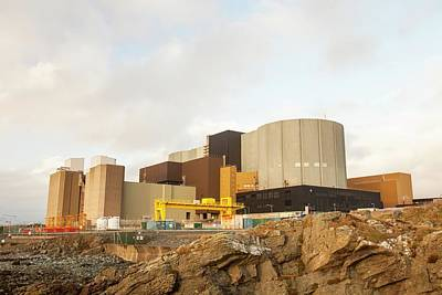 Grid Photograph - Wylfa Nuclear Power Station by Ashley Cooper