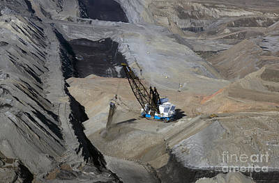 Photograph - Wyoming Coal Mine by Jim West