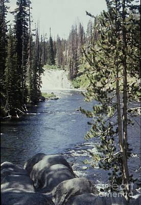 Wyoming Stream Art Print by Adeline Byford