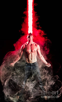 Cyclops Photograph - X-men Cyclops  by Jt PhotoDesign