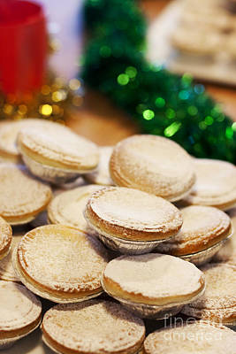 Xmas Mince Pies Print by Jorgo Photography - Wall Art Gallery