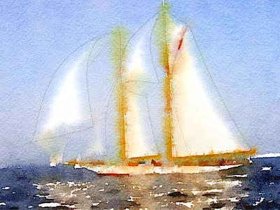Yacht 5 Art Print