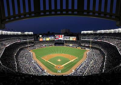 Yankee Stadium 2 Art Print by Allen Beatty