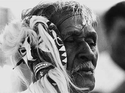 Yaqui Photograph - Yaqui Pascola Dancer New Pascua Tucson Arizona 1969 by David Lee Guss