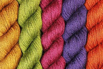 Ply Photograph - Yarn With A Twist by Jim Hughes