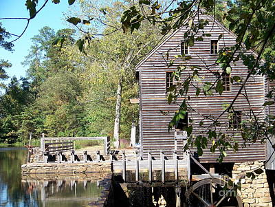Photograph - Yates Mill by Kevin Croitz