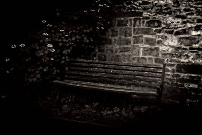 Photograph - Ye Olde Bench In Bakewell Town Peak District - England by Doc Braham