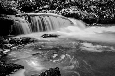 Bath Time - Yellow Creek Falls Great Smoky Mountains by Alex Grichenko
