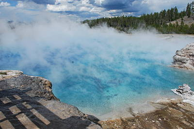 Photograph - Yellowstone by Dany Lison