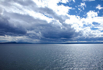 Photograph - Yellowstone Lake by Scott Sanders