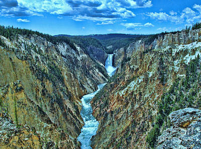 Photograph - Yellowstone River  by Allen Beatty