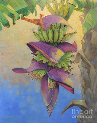 Sandra Williams Painting - Yes We Have Bananas by Sandra Williams