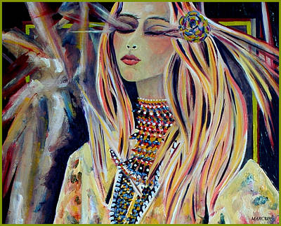 Painting - Yohanna by Leslie Marcus