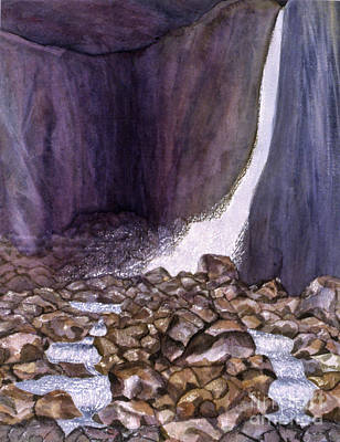 Painting - Yosemite Falls by Patricia  Tierney