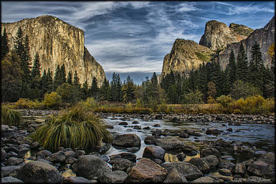 Photograph - Yosemite Valley by Erika Fawcett