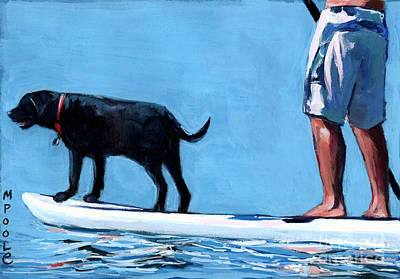 Water Sports Painting - You Me And The Sea by Molly Poole
