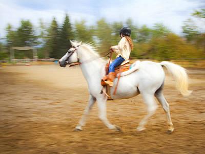 Photograph - Young Rider by Theresa Tahara