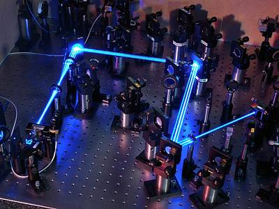 Definition Photograph - Ytterbium Optical Clock Laser by Andrew Brookes, National Physical Laboratory
