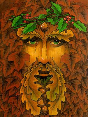 Yule King Art Print by Yuri Leitch