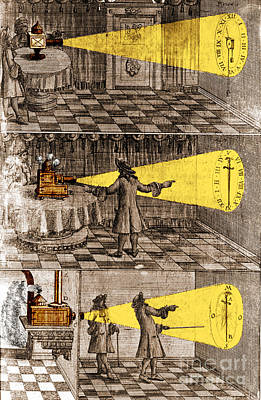Photograph - Zahn Light Projection Apparatus 1685 by Science Source