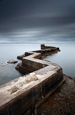 Photograph - Zig-zag Pier by Grant Glendinning