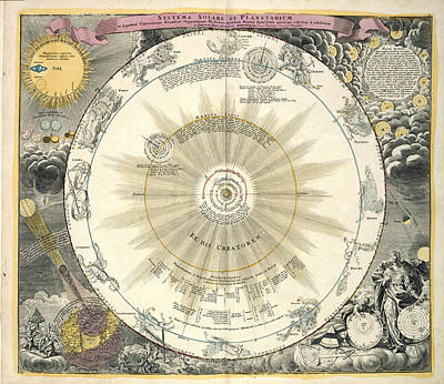 Zodiac Chart Art Print by British Library