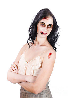 Zombie Women Posing Art Print by Jorgo Photography - Wall Art Gallery