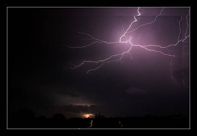 Photograph - 10-07-14 Lightning Storm by Ericamaxine Price