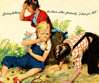 1940s Uk Womans Own Magazine Plate Art Print