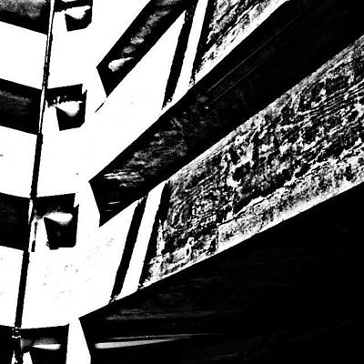Abstract Wall Art - Photograph - Car Park 3 by Jason Michael Roust
