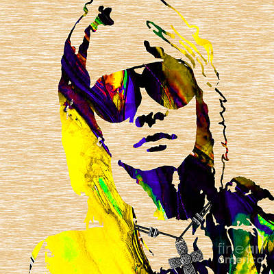 Axl Roxe Collection Art Print by Marvin Blaine