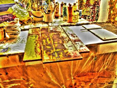 Abstract Photograph - Back In The Studio by Sir Josef - Social Critic -  Maha Art