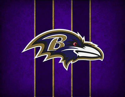 Baltimore Ravens Art Print by Joe Hamilton