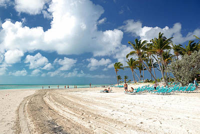 Lounging Photograph - Beach At Coco Cay by Amy Cicconi