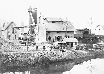 Katherine Photograph - Blast Furnace by Hagley Museum And Archive