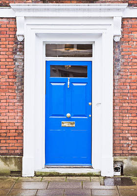 Blue Door Art Print by Tom Gowanlock