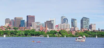 Photograph - Boston by Songquan Deng