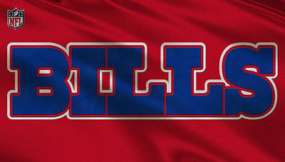 Buffalo Bills Uniform Art Print