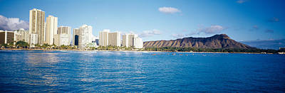 Diamond Head Photograph - Buildings At The Waterfront by Panoramic Images