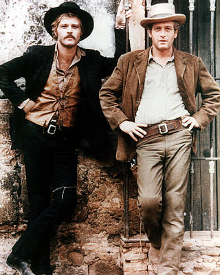 Newman Photograph - Butch Cassidy And The Sundance Kid  by Silver Screen
