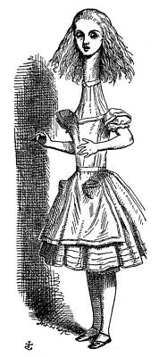 Carroll Drawing - Carroll Alice, 1865 by Granger