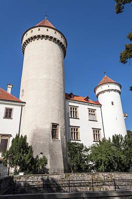 Lady Bug - Castle tower. by Fernando Barozza