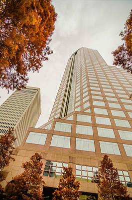 Pittsburgh According To Ron Magnes - Charlotte City Skyline Autumn Season by Alex Grichenko