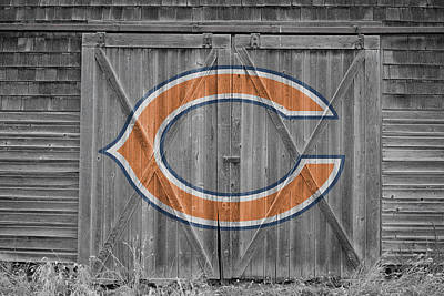 Photograph - Chicago Bears by Joe Hamilton