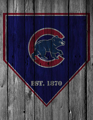 Chicago Cubs Art Print by Joe Hamilton
