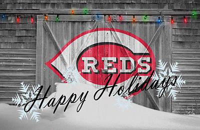 Photograph - Cincinnati Reds by Joe Hamilton