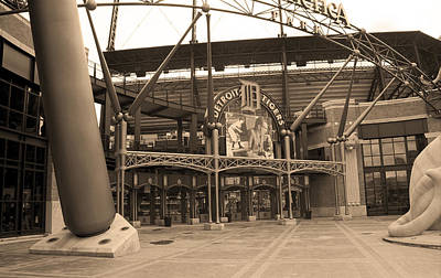 Detroit Tigers Art Photograph - Comerica Park - Detroit Tigers by Frank Romeo