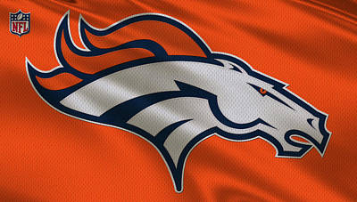 Iphone Case Photograph - Denver Broncos Uniform by Joe Hamilton