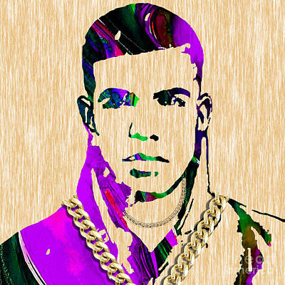Hip Hop Mixed Media - Drake Collection by Marvin Blaine